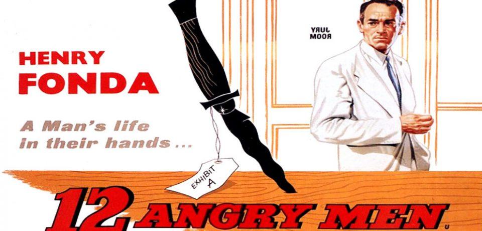 دانلود فیلم حقوقی ۱۲ مرد خشمگین به همراه نقد و بررسی